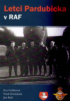 Obálka titulu Letci Pardubicka v RAF