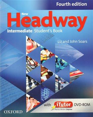 New Headway Intermediate Student ´s Book Fourth edition + i tutor DVDROM