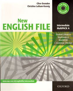 Obálka titulu New English File Intermediate Multipack A