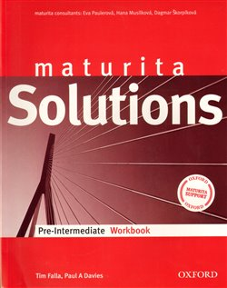 Obálka titulu Maturita Solutions Pre-Intermediate Workbook Czech Edition