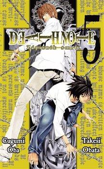 Obálka titulu Death Note 5 - Zápisník smrti
