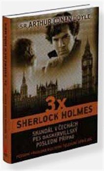 Obálka titulu 3 x Sherlock Holmes