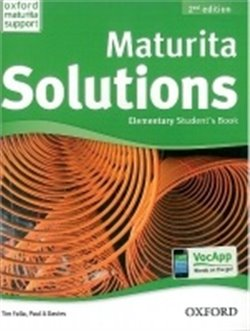 Obálka titulu Maturita Solution Elementary Student´s Book 2nd Edition