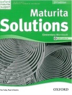 Obálka titulu Maturita Solutions Elementary Workbook 2nd Edition