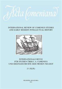 Obálka titulu Acta Comeniana 25