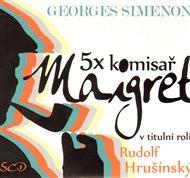 5x komisař Maigret + 5x komisař Maigret podruhé
