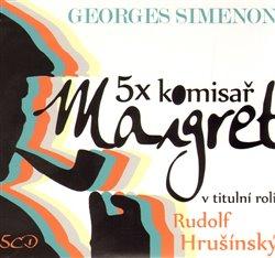 Obálka titulu 5x komisař Maigret + 5x komisař Maigret podruhé