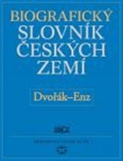 Obálka titulu Biografický slovník českých zemí