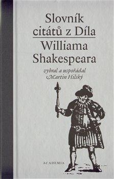 Obálka titulu Slovník citátů Williama Shakespeara
