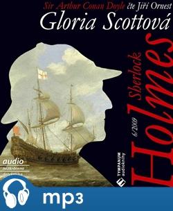 Obálka titulu Sherlock Holmes - Gloria Scottová