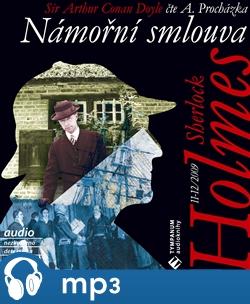 Obálka titulu Sherlock Holmes - Námořní smlouva