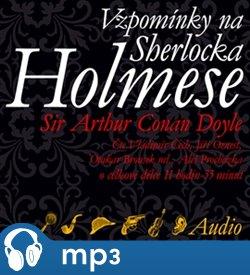 Obálka titulu Vzpomínky na Sherlocka Holmese
