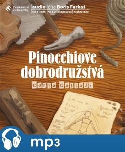 Obálka titulu Pinocchiove dobrodružstvá
