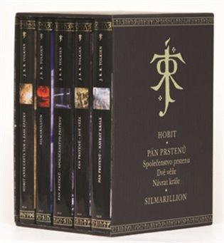 Komplet-Tolkien - Hobit, Společenstvo prstenu, Dvě věže, Návrat krále, Silmarilion