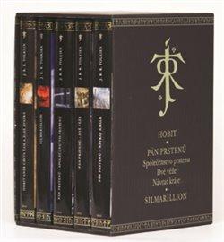 Komplet-Tolkien. Hobit, Společenstvo prstenu, Dvě věže, Návrat krále, Silmarilion - J. R. R. Tolkien