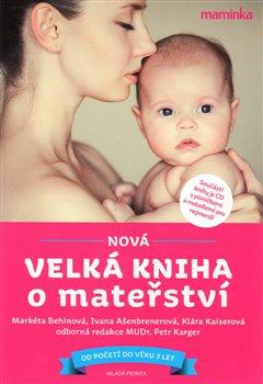 Obálka titulu Nová velká kniha o mateřství + CD