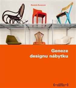 Obálka titulu Geneze designu nábytku