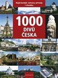 Obálka knihy 1000 divů Česka