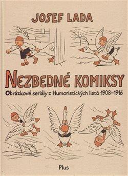Obálka titulu Nezbedné komiksy