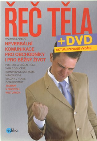 Řeč těla + DVD - Vojtěch Černý | Booksquad.ink