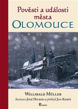 Obálka titulu Pověsti a události města Olomouce