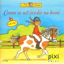 Obálka titulu Conni se učí jezdit na koni