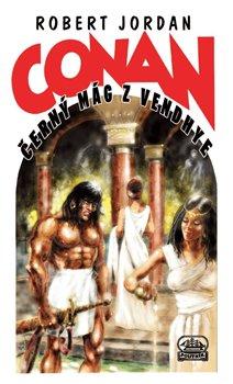 Obálka titulu Conan a černý mág z Vendhye