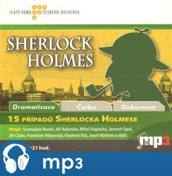 Obálka titulu 15 případů Sherlocka Holmese