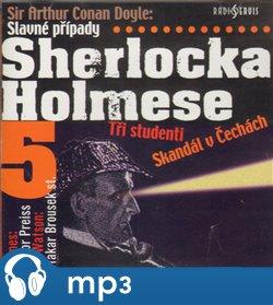 Obálka titulu Slavné případy Sherlocka Holmese 5
