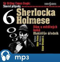 Obálka titulu Slavné případy Sherlocka Holmese 6