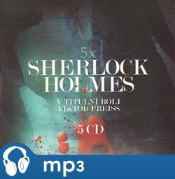 Obálka titulu 5x Sherlock Holmes