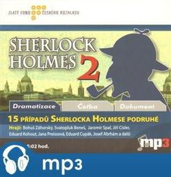 Obálka titulu 15 případů Sherlocka Holmese podruhé