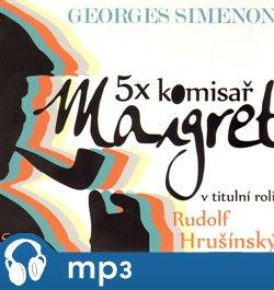 Obálka titulu 5x komisař Maigret