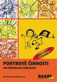 Obálka titulu Pohybové činnosti v předškolním vzdělávání