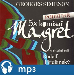 Obálka titulu 5x Maigret podruhé
