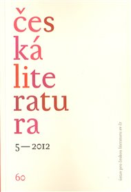 Česká literatura 5/2012