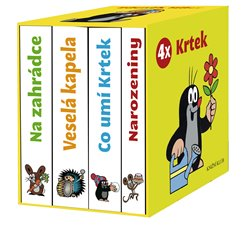 4x Krtek - komplet - Zdeněk Miler