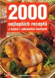 Obálka knihy 2000 nejlepších receptů z české i zahraniční kuchyně