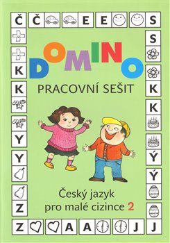 Obálka titulu Domino Český jazyk pro malé cizince 2 - pracovní sešit