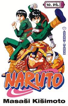 Obálka titulu Naruto 10: Úžasný nindža