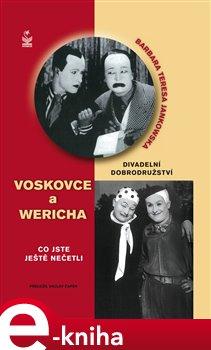 Obálka titulu Divadelní dobrodružství Voskovce a Wericha
