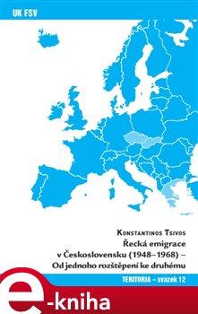 Obálka titulu Řecká emigrace v Československu (1948-1968)