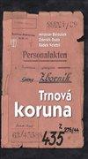Obálka knihy Trnová koruna
