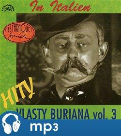 Obálka titulu Hity Vlasty Buriana 3 - In Italien