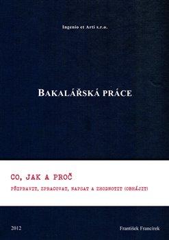 Obálka titulu Bakalářská práce