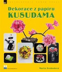 Obálka titulu Dekorace z papíru - Kusudama