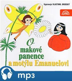 Obálka titulu O makové panence a motýlu Emanuelovi