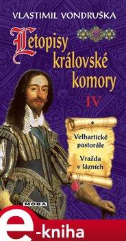 Obálka titulu Letopisy královské komory IV.