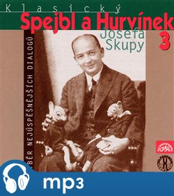 Obálka titulu Klasický Spejbl a Hurvínek Josefa Skupy 3.