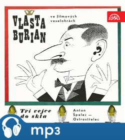 Obálka titulu Vlasta Burian ve filmových veselohrá